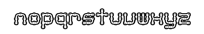 Arthritis BRK Font LOWERCASE