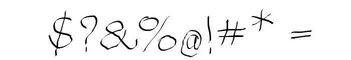 ArthritishSpringtime Font OTHER CHARS