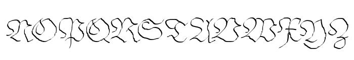 ArthritishSpringtime Font UPPERCASE