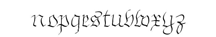 ArthritishSpringtime Font LOWERCASE
