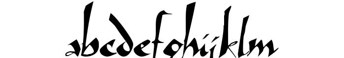 Arthur Font LOWERCASE
