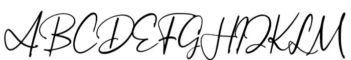 ArthurdaleDemo Font UPPERCASE
