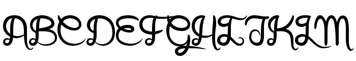 Arthus1 Hig6htone Font UPPERCASE
