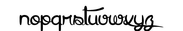 Arthus1 Hig6htone Font LOWERCASE