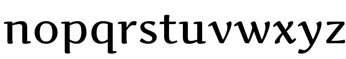 Artifika Medium Font LOWERCASE