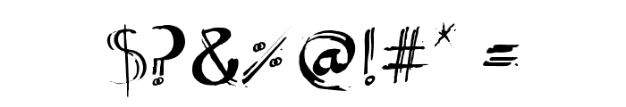 Artmar Font OTHER CHARS