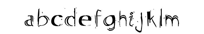 Artmar Font LOWERCASE
