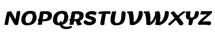 Arturo Trial Bold Italic Font UPPERCASE