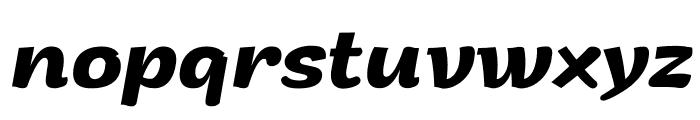 Arturo Trial Bold Italic Font LOWERCASE
