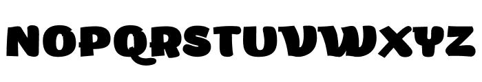 Arturo Trial Heavy Font UPPERCASE
