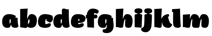 Arturo Trial Heavy Font LOWERCASE