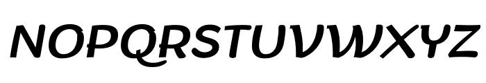 Arturo Trial Italic Font UPPERCASE
