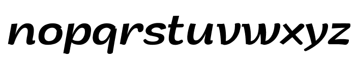Arturo Trial Italic Font LOWERCASE