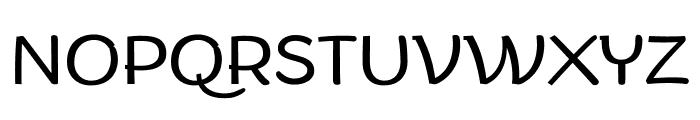 Arturo Trial Light Font UPPERCASE