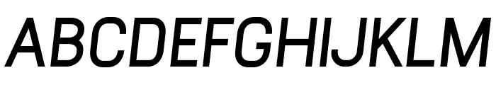 Arvin Bold Italic Font UPPERCASE