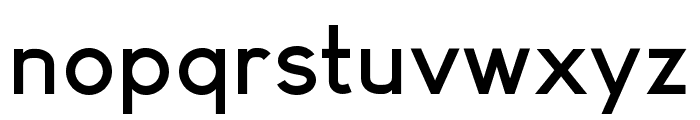 Arvin Bold Font LOWERCASE