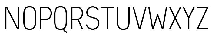 Arvin Light Font UPPERCASE