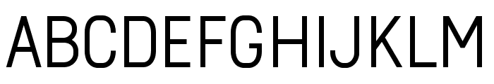 Arvin Regular Font UPPERCASE