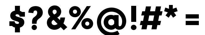 Arvo Bold Font OTHER CHARS