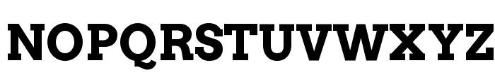 Arvo Bold Font UPPERCASE