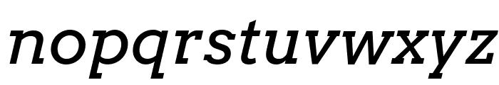 Arvo-Italic Font LOWERCASE