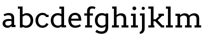 Arvo Font LOWERCASE