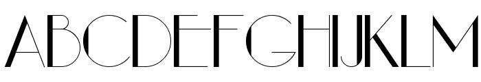 Arwen Regular Font UPPERCASE