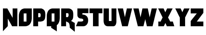 Arwing Font LOWERCASE