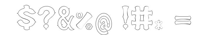 arab saenz3 Font OTHER CHARS