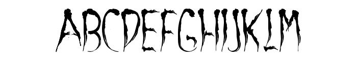 aracnoide Font UPPERCASE