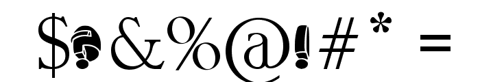 aragon solid Font OTHER CHARS