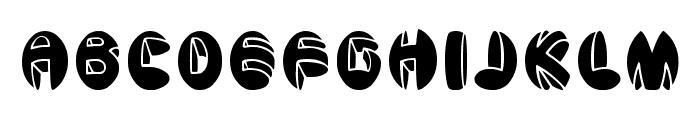 aragon solid Font UPPERCASE