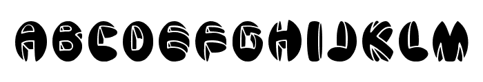 aragon solid Font LOWERCASE