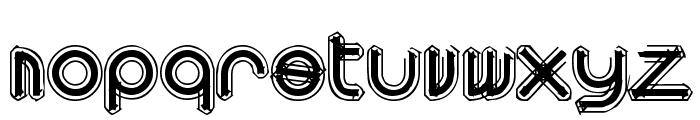 area OUTLINEe Font LOWERCASE