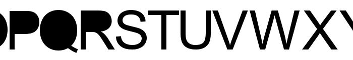 aria solid Regular Font UPPERCASE