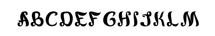 army of me Font UPPERCASE