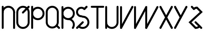 around-20_free-version Font UPPERCASE