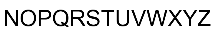 Arial Unicode MS Font UPPERCASE