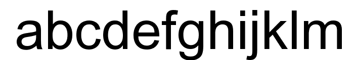 Arial Unicode MS Font LOWERCASE