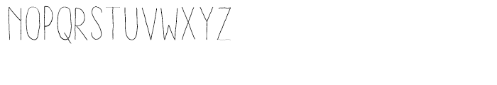 Aracne Condensed Stamp Light Font UPPERCASE