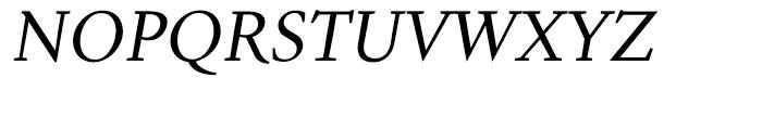 Aragon Italic Font UPPERCASE