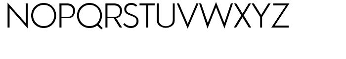 Aramis Light Font UPPERCASE