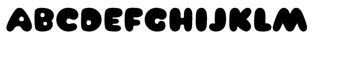 Arbuckle Black Font UPPERCASE