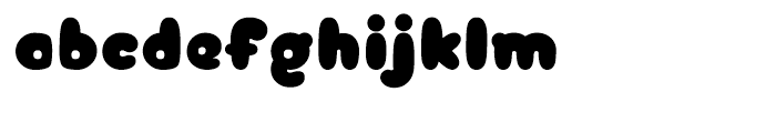 Arbuckle Black Font LOWERCASE