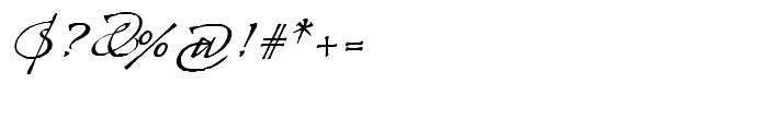 Arcana GMM Manuscript Font OTHER CHARS