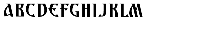 Archangel Body Font UPPERCASE