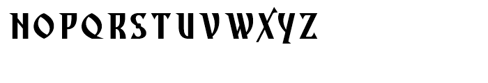 Archangel Body Font LOWERCASE