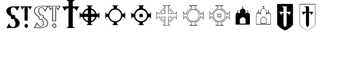 Archangel Icon Font LOWERCASE
