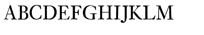 Archetype Regular Font UPPERCASE