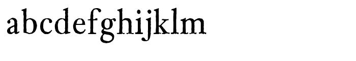 Archetype Regular Font LOWERCASE
